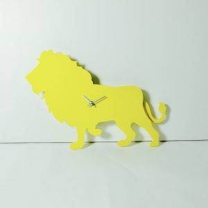 The Labrador Co.-Yellow Lion Wagging Tail Clock - last one!