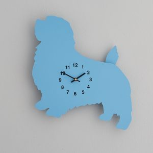 The Labrador Co.-Blue Terrier Clock with wagging tail - last one! 1
