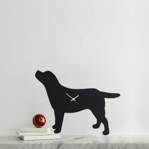 The Labrador Co.-Labrador Clock - Black 75