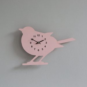 The Labrador Co.-Pink Show Jumper Clock with wagging tail - last one! (Copy)
