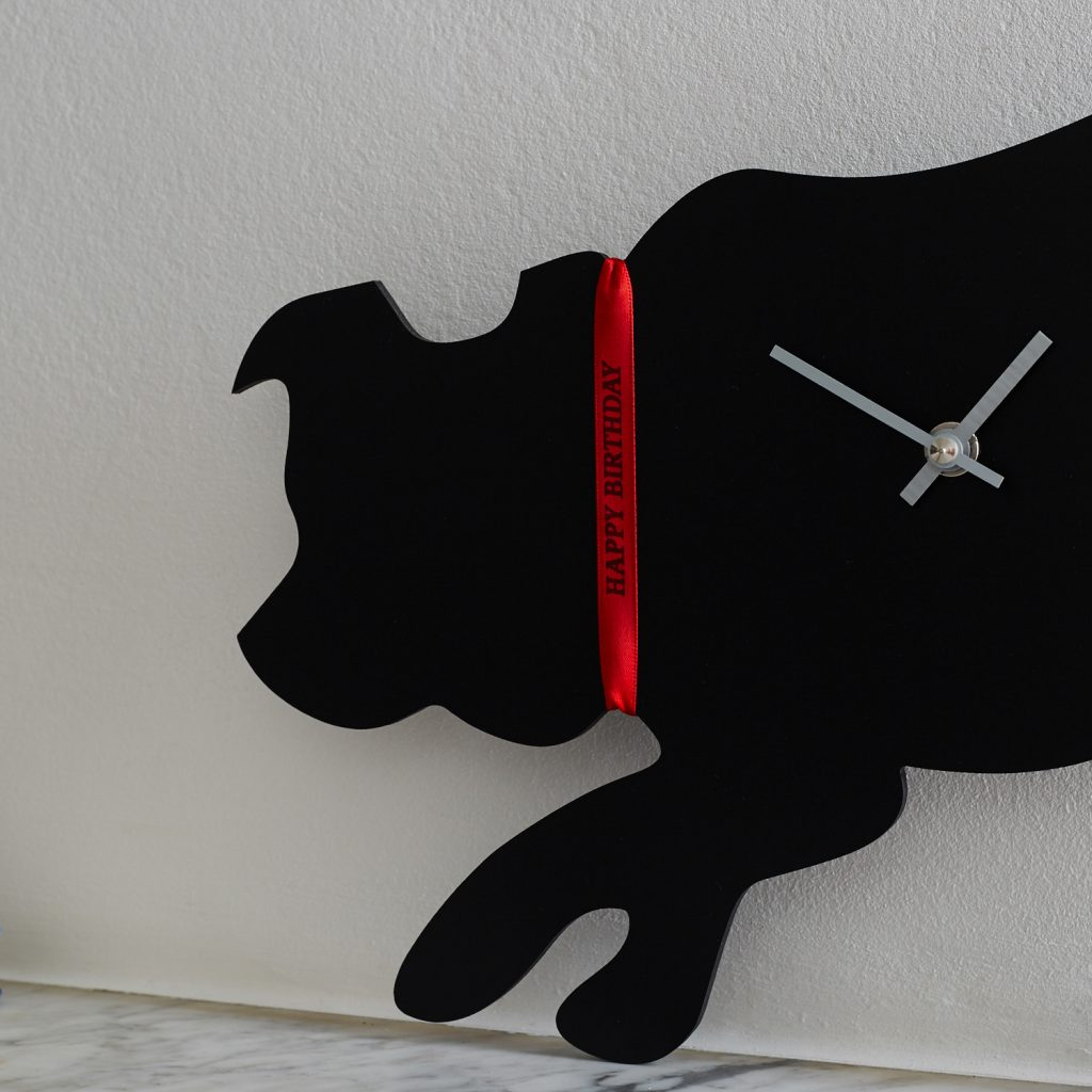 The Labrador Company-Border Collie Clock 1
