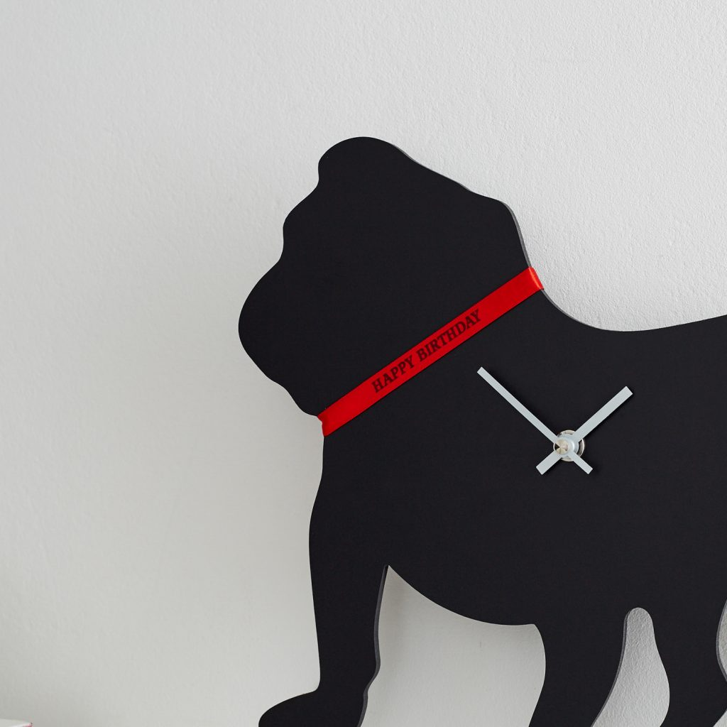 The Labrador Company-British Bulldog Clock 1