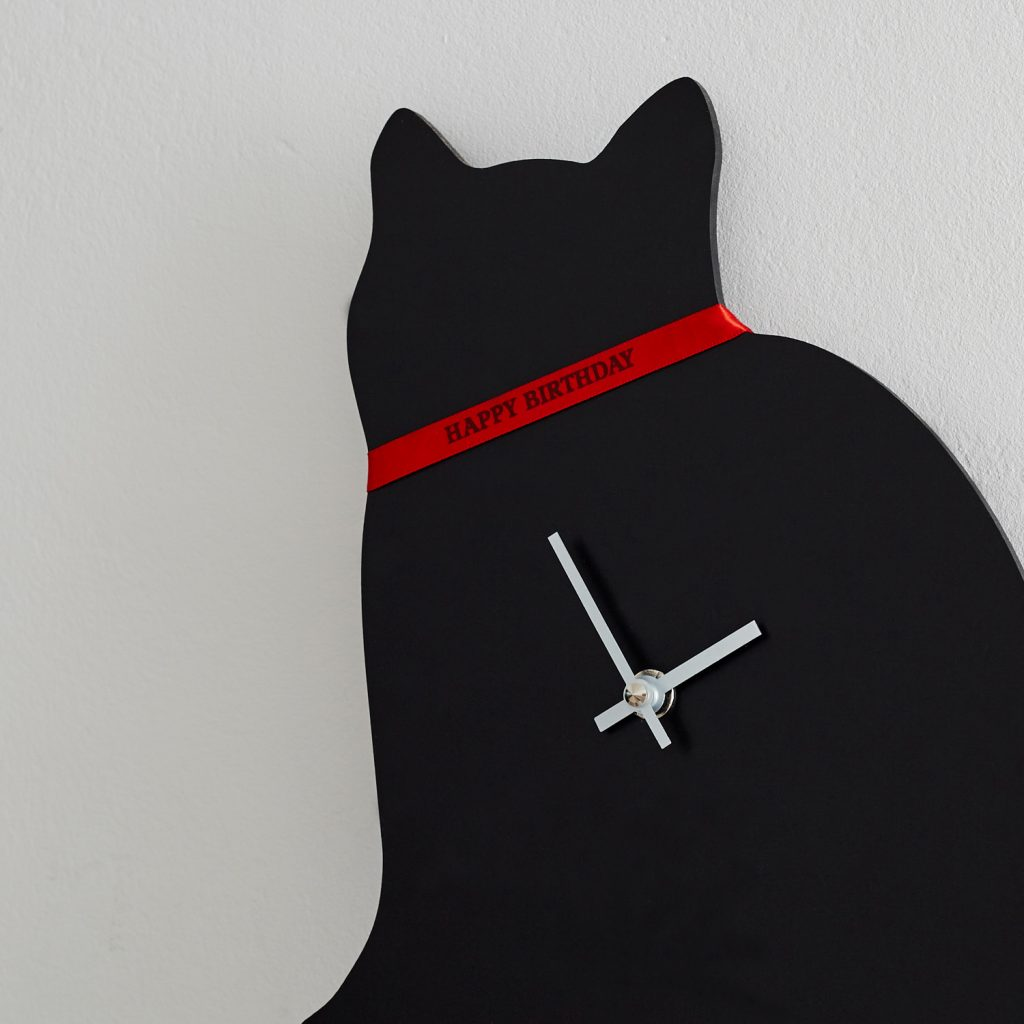 The Labrador Company-Cat Clock 1