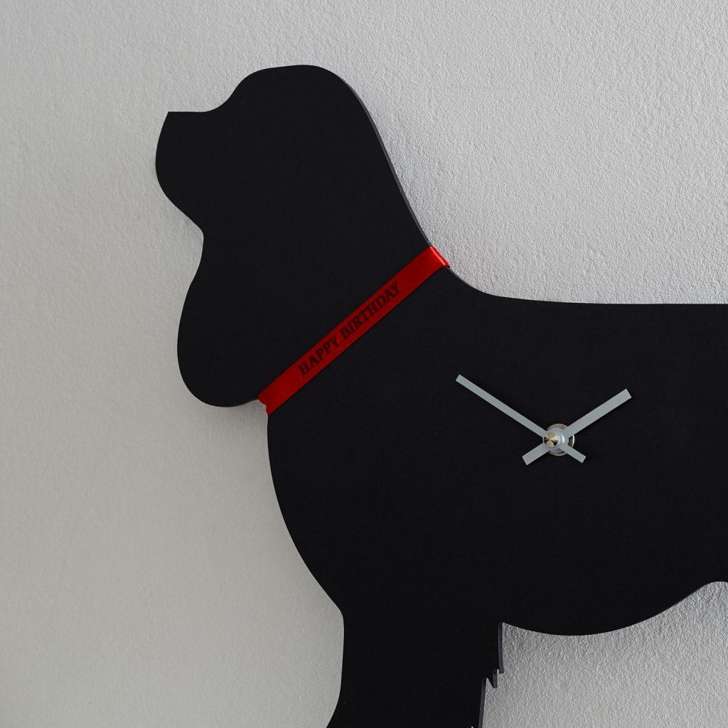 The Labrador Company-Cavalier King Charles Spaniel Clock 1