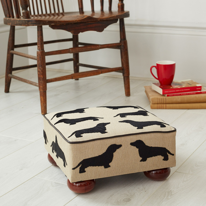 Super Eaton Dachshund Small Footstool Beatyapartments Chair Design Images Beatyapartmentscom