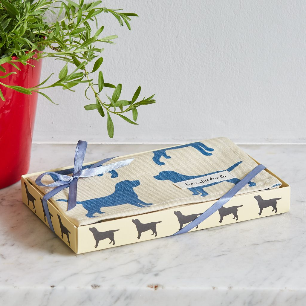 The Labrador Company-Black Labrador Print Tea Towel 7
