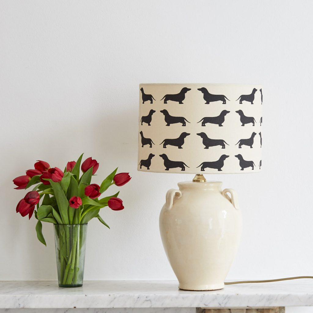 The Labrador Company-Dachshund Lampshade Medium 1