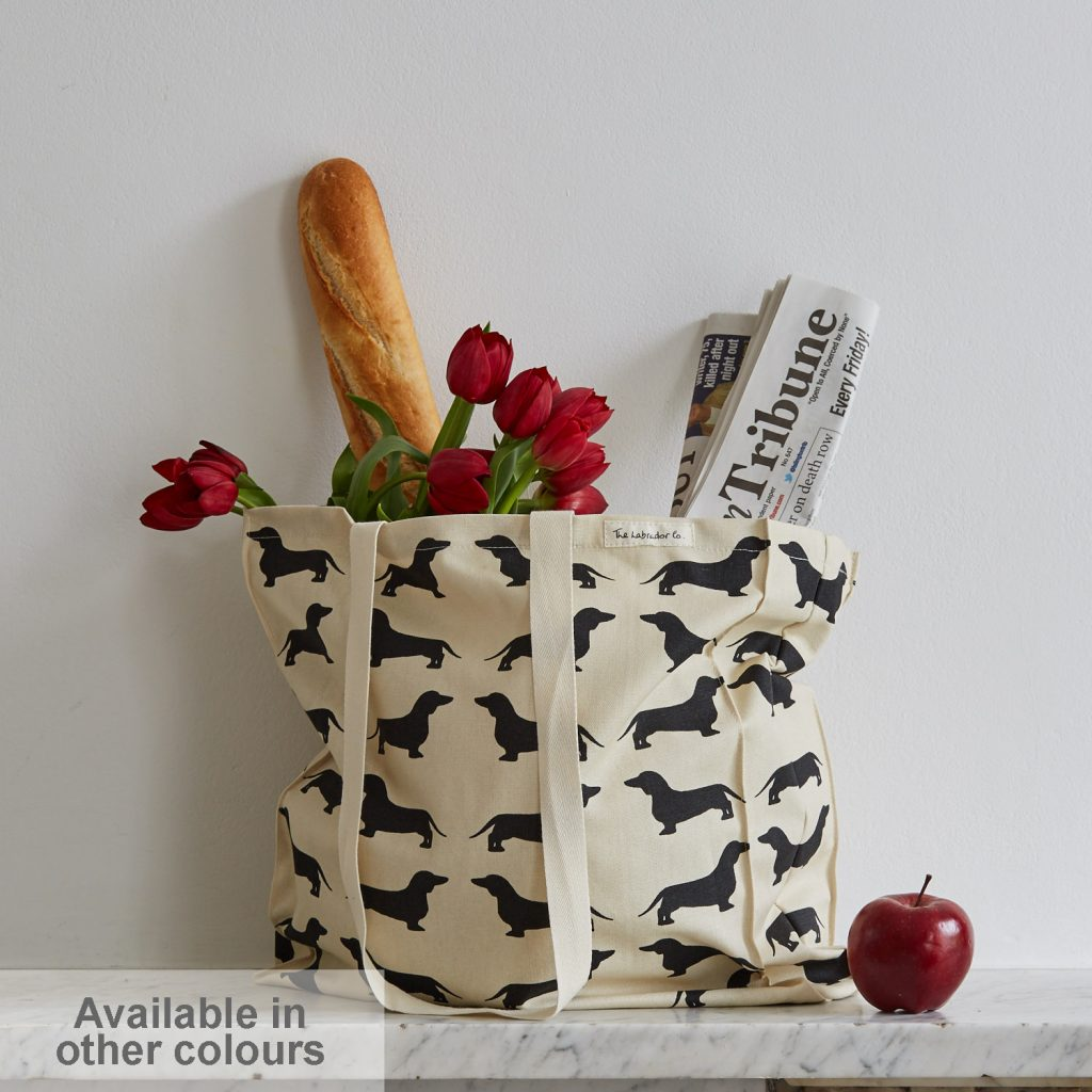 The Labrador Company-Dachshund Tote Bag