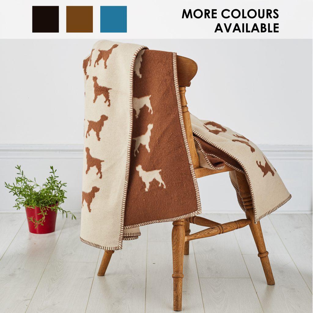 The Labrador Company-Spaniel Blanket