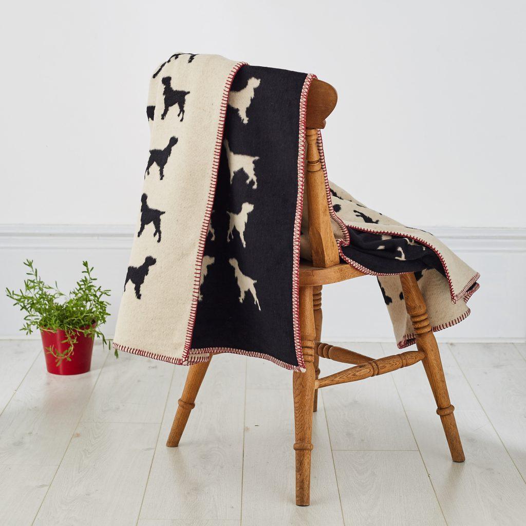 The Labrador Company-Spaniel Blanket 4