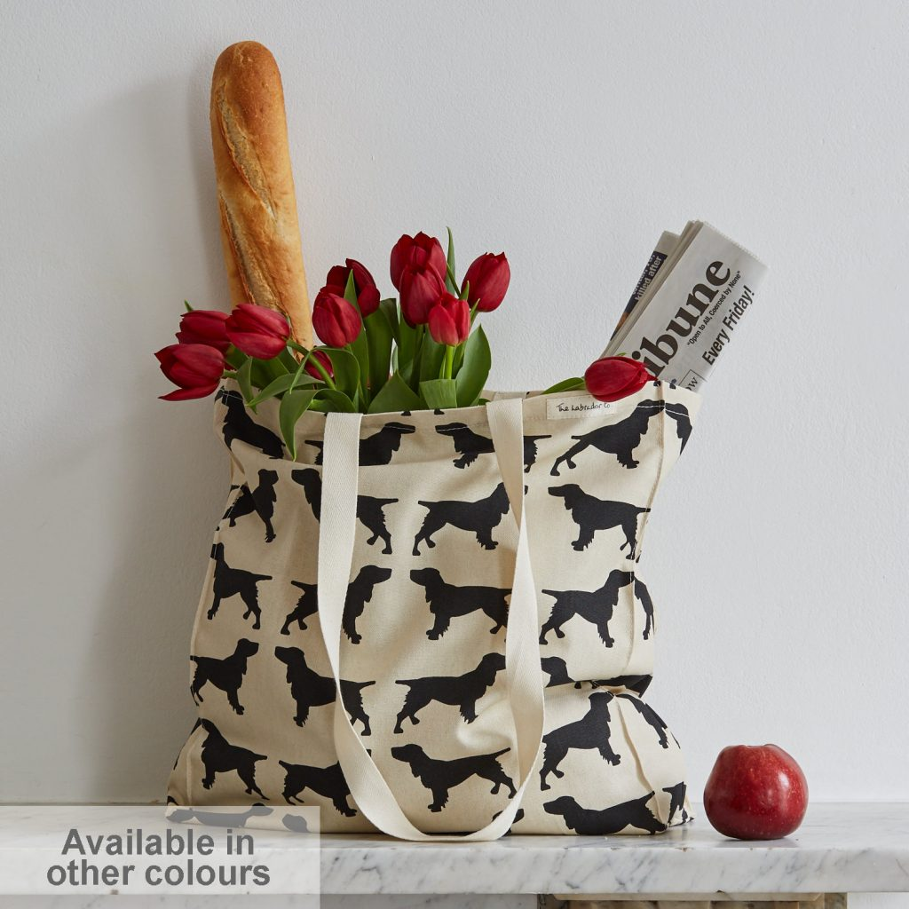 The Labrador Company-Spaniel Tote Bag