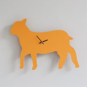 The Labrador Company-Lamb clock with wagging tail - Last one!