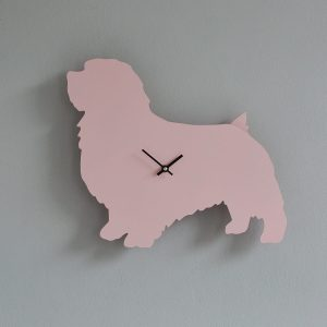 The Labrador Co.-Pink Terrier Clock with wagging tail - last one!