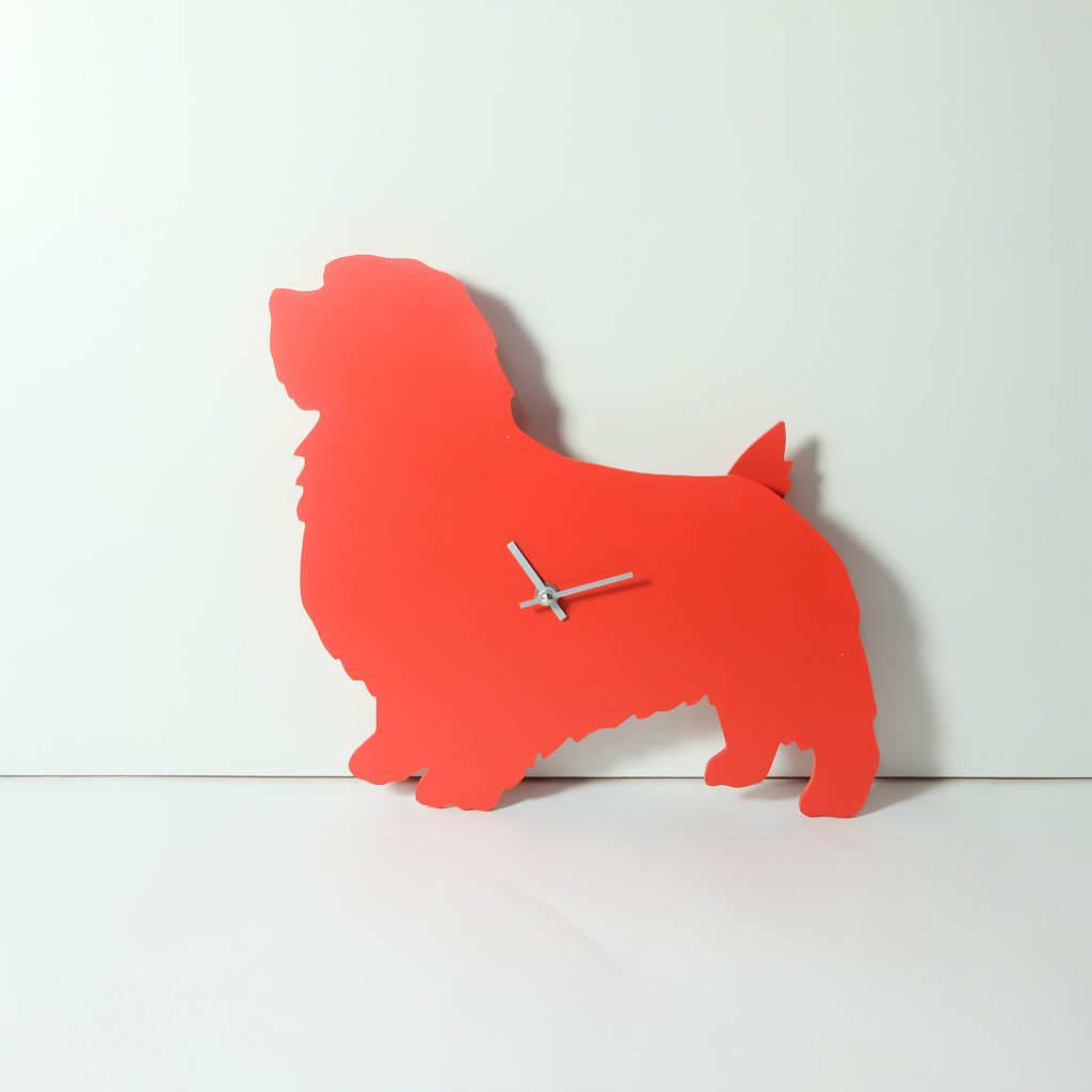 The Labrador Co.-Red Terrier Clock with wagging tail - last one!