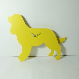 The Labrador Co.-King Charles Cavalier Spaniel clock with wagging tail - last one!
