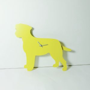 The Labrador Co.-Yellow Border Terrier Clock with wagging tail - last one!