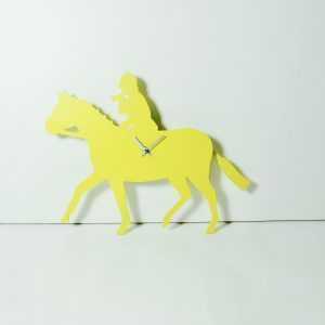 The Labrador Co.-Yellow Huntsman Clock with wagging tail - last one!