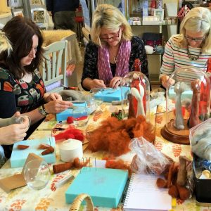 The Labrador Co.-Country Sheep Needle Felting Workshop by Fibre Artist Carla Taylor. Sunday 22 April 10.00 - 15.00