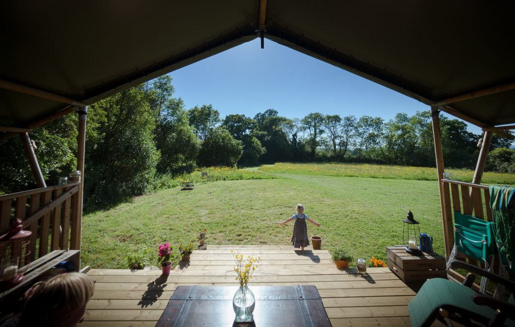 Black Pig Retreats offers luxury glamping in the heart of Dorset.