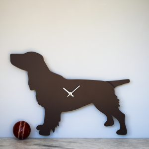 The Labrador Co.-Spaniel Clock - Brown 2