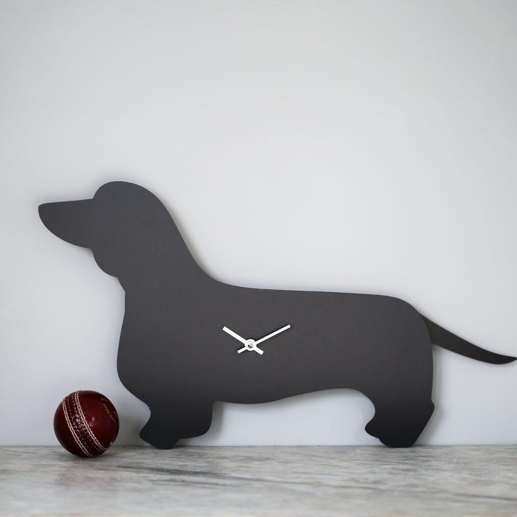 The Labrador Co.-Dachshund Clock