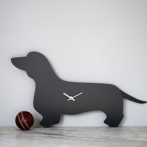 The Labrador Co.-Dachshund Clock