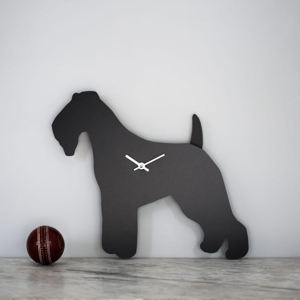 The Labrador Co.-Fox Terrier Clock