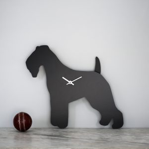 The Labrador Co.-Fox Terrier Clock