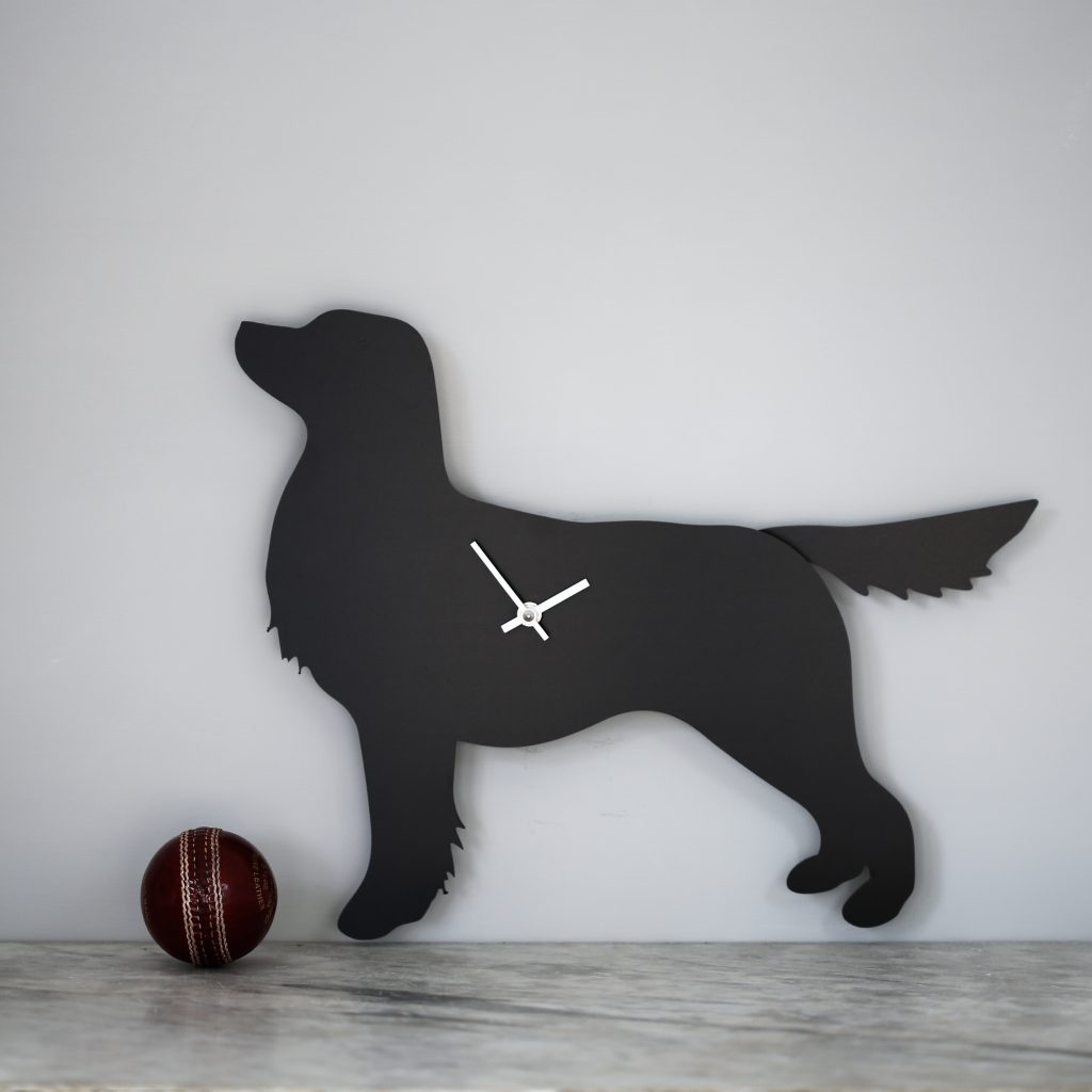The Labrador Co.-Retriever Clock