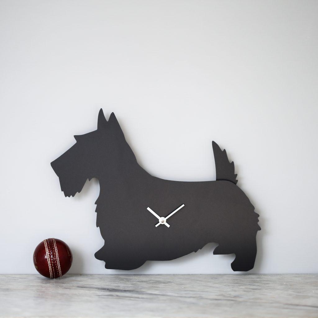 The Labrador Co.-Scottie Clock