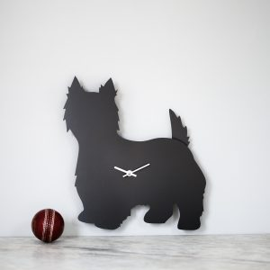 The Labrador Co.-West Highland Terrier Clock
