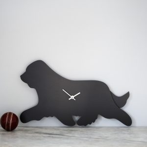 The Labrador Co.-Bearded Collie Clock