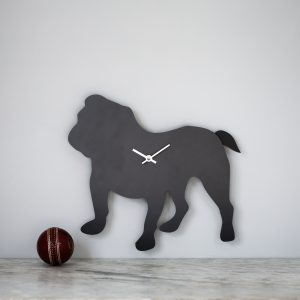 The Labrador Co.-British Bulldog Clock