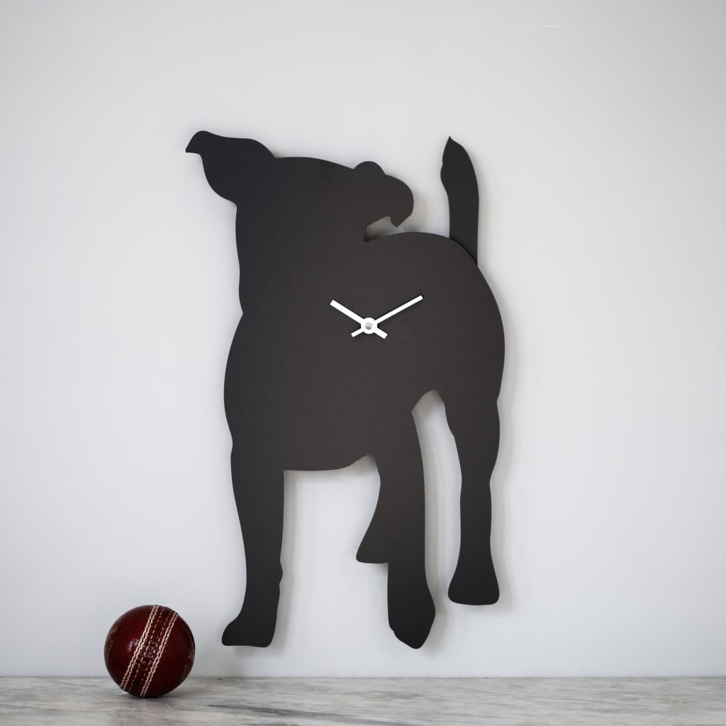 The Labrador Co.-Jack Russell Clock