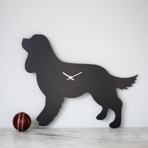 The Labrador Co.-Cavalier King Charles Spaniel Clock