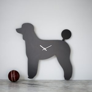 The Labrador Co.-Poodle Clock