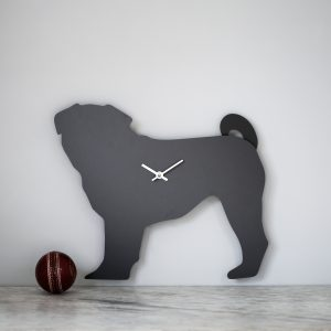The Labrador Co.-Pug Clock