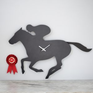 The Labrador Co.-Racehorse Clock