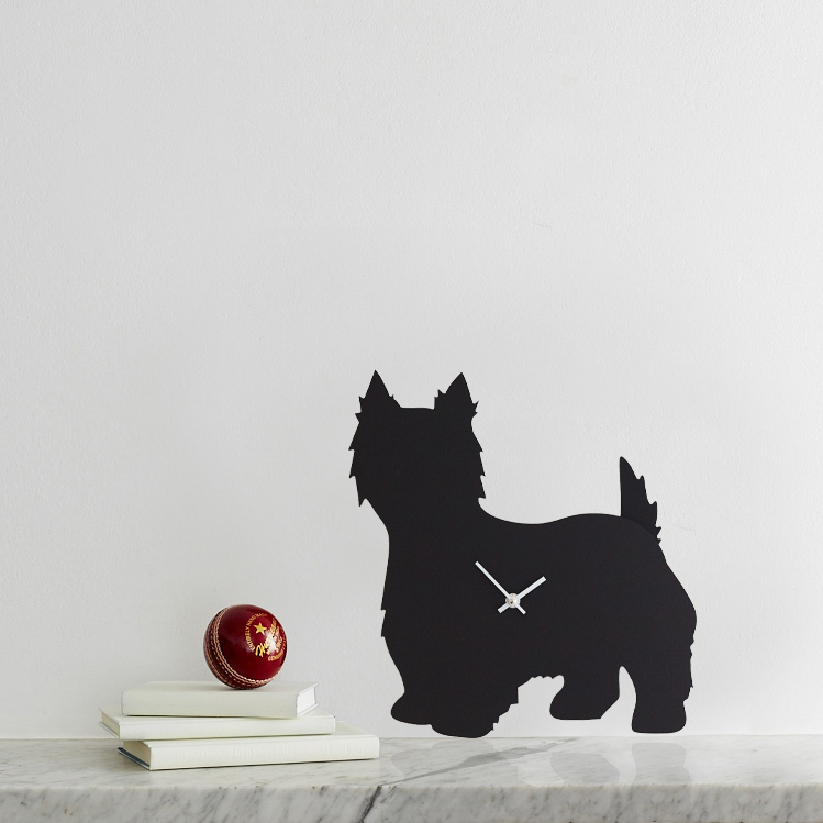 The Labrador Co.-West Highland Terrier Clock 1