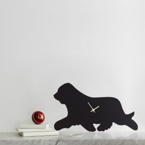The Labrador Co.-Bearded Collie Clock 1
