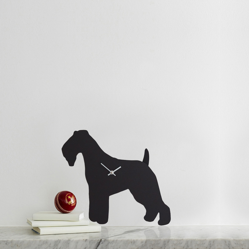 The Labrador Co.-Fox Terrier Clock 1