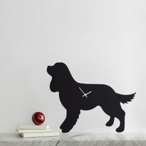 The Labrador Co.-Cavalier King Charles Spaniel Clock 1