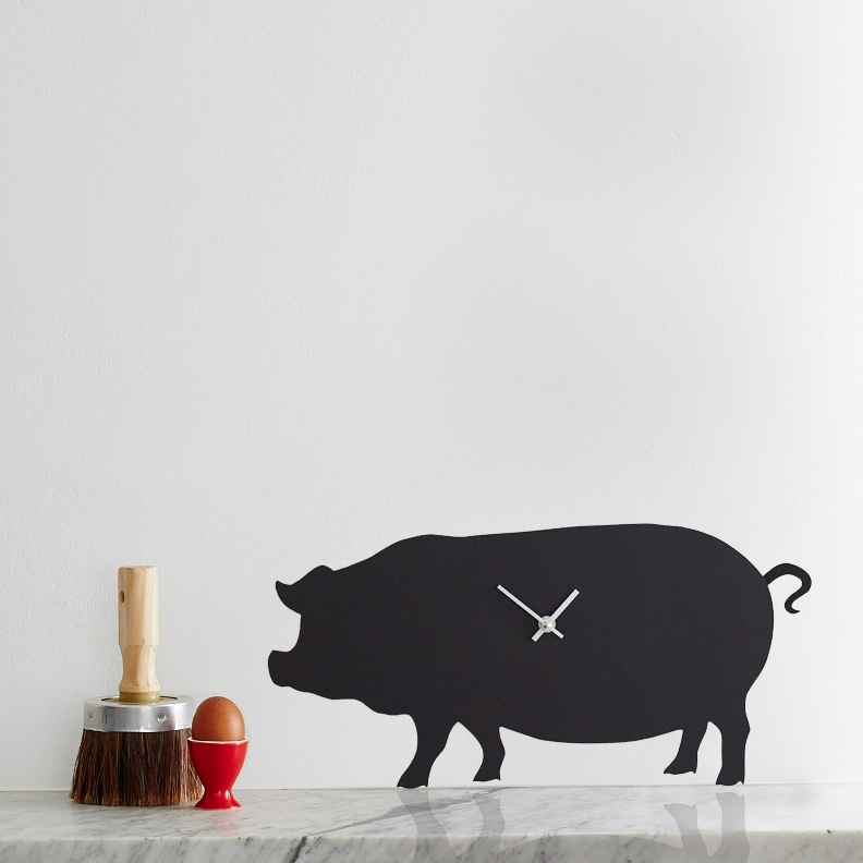 The Labrador Co.-Pig Clock 1