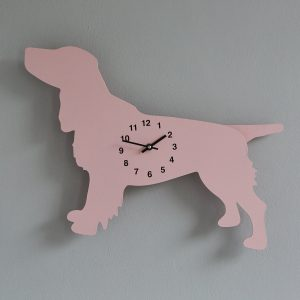 The Labrador Co.-Pink Poodle Clock with wagging tail - last one! (Copy)